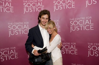 Sadie Kaye and Dom Dandridge at the Centre For Social Justice Awards