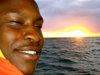 Geoffrey after Night Sail to Venezuela