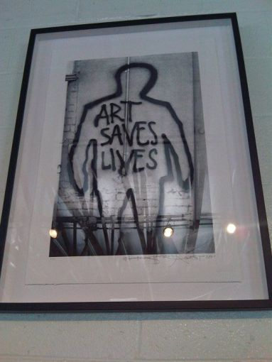 Art Saves Lives (Dean Stalham, Sadie Kaye and Freddie London)