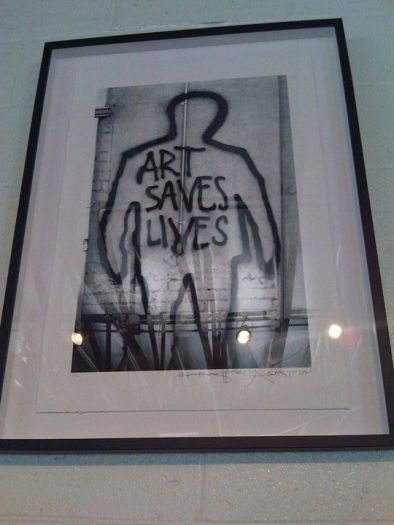 Art Saves Lives (Dean Stalham, Sadie Kaye and Freddie London)