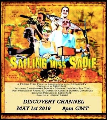 Sailing Miss Sadie on Discovery