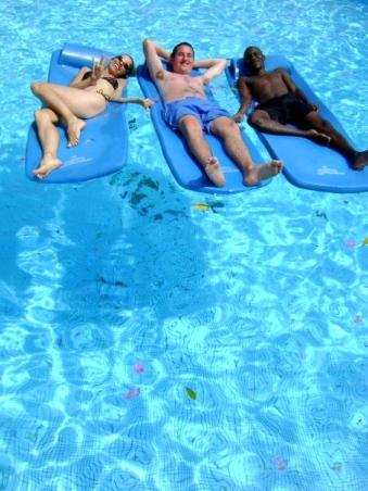 Sadie Kaye, Chris Tahaney & Geoff Nganga