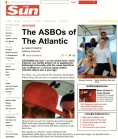 Sadie Kaye in The Sun (The ASBO's of the Atlantic)