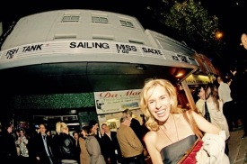 Sadie Kaye at the 2010 premiere of Sailing Miss Sadie at London's Gate Cinema