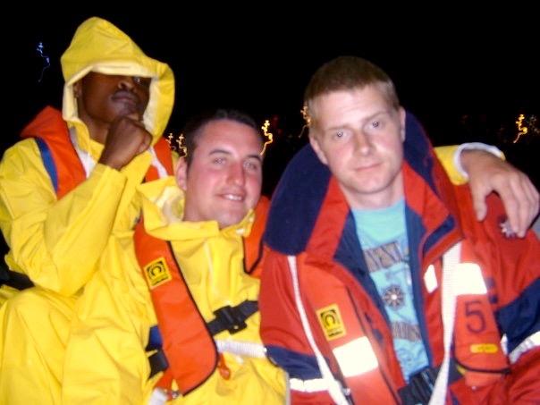 Geoff, Chris and Sam