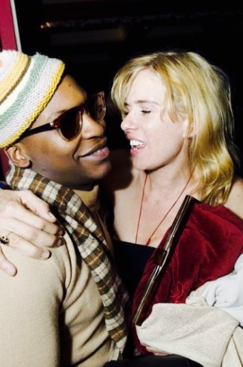 Sadie Kaye and Geoffrey Nganga (Sailing Miss Sadie London premiere)