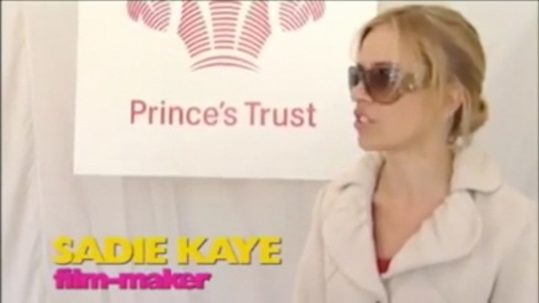 Sadie Kaye Prince's Trust Celebrate Success Awards