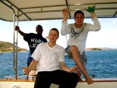 Crew Geoff Chris and Sam