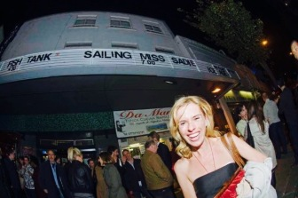 Sadie Kaye at Sailing Miss Sadie Premiere London