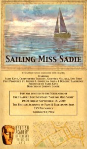 Sailing Miss Sadie BAFTA Screening